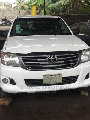 Toyota Hilux 2014 White | Cars for sale in Lagos State, Lagos Island (Eko)