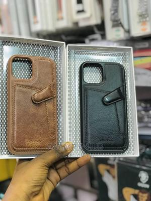 Leather Case for iPhone 12 and 12 Pro Max   Accessories for Mobile Phones & Tablets for sale in Lagos State, Ikeja