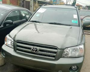 Toyota Highlander 2005 Green   Cars for sale in Lagos State, Ikeja