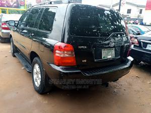 Toyota Highlander 2004 Limited V6 FWD Black | Cars for sale in Lagos State, Magodo