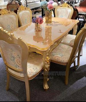 Imported Six Seaters Royal Dinning | Furniture for sale in Lagos State, Ikeja