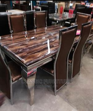 Quality Imported Marble Dinning Table. | Furniture for sale in Lagos State, Alimosho