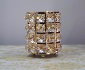 Round Crystal White Wall Bracket Light With Gold Details | Home Accessories for sale in Abuja (FCT) State, Kubwa