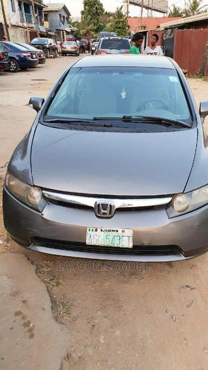 Honda Civic 2008 1.8 EX Gray | Cars for sale in Lagos State, Surulere