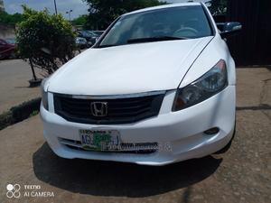 Honda Accord 2008 2.0 Comfort White   Cars for sale in Lagos State, Ikeja