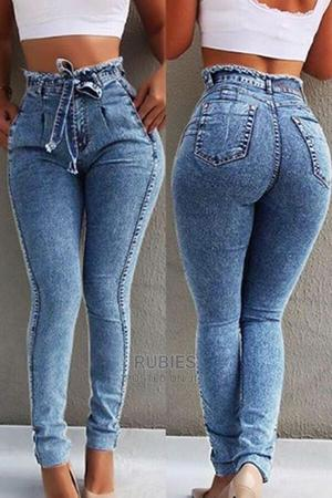 Casual Raw Edge Blue Jeans | Clothing for sale in Oyo State, Ibadan