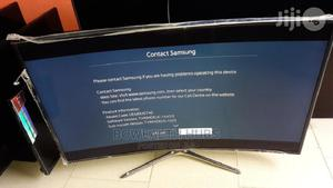 48 Inches Samsung Smart UHD 4k Curved Led Tv   TV & DVD Equipment for sale in Lagos State, Ikeja