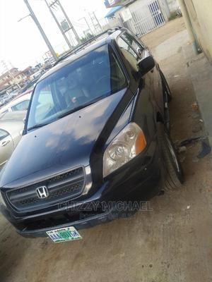 Honda Pilot 2004 EX 4x4 (3.5L 6cyl 5A) Black | Cars for sale in Lagos State, Ikotun/Igando