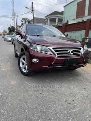 Lexus RX 2015 350 AWD Red   Cars for sale in Lagos State, Ogba
