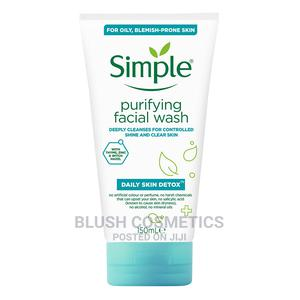 Simple Daily Skin Detox Purifying Facial Wash, 150ml   Skin Care for sale in Abuja (FCT) State, Gwarinpa