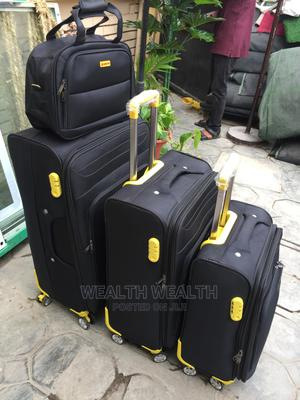 Portable Leaderpolo Trolley Luggage Black Good Bag | Bags for sale in Lagos State, Ikeja