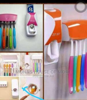 Toothpaste Dispenser and Brush Holder | Home Accessories for sale in Edo State, Benin City
