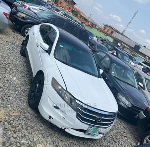 Honda Accord CrossTour 2010 EX White | Cars for sale in Lagos State, Ogba