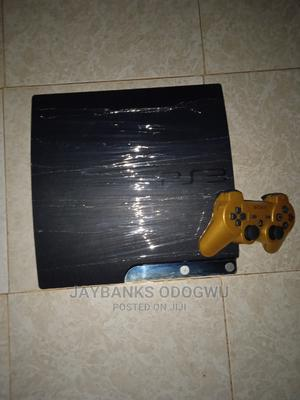 Clean Hacked Ps3 Slim+Games Installed   Video Game Consoles for sale in Edo State, Benin City