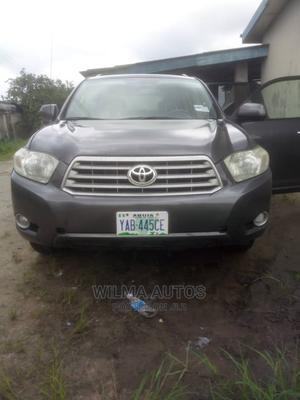 Toyota Highlander 2009 Limited 4x4 Gray | Cars for sale in Delta State, Warri