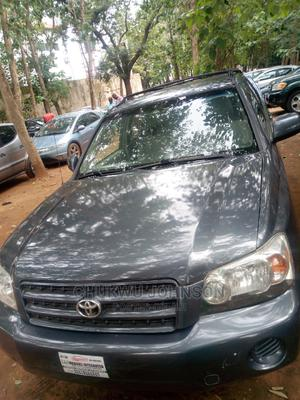 Toyota Highlander 2002 Gray | Cars for sale in Abuja (FCT) State, Gaduwa