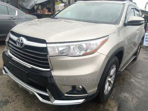 Toyota Highlander 2015 Gold | Cars for sale in Rivers State, Port-Harcourt