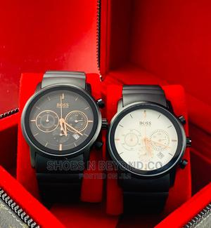 HUGO BOSS Rubber Strap Watches for Bosses | Watches for sale in Lagos State, Lagos Island (Eko)