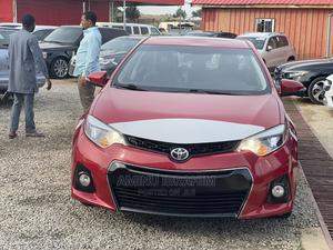 Toyota Corolla 2016 Red   Cars for sale in Abuja (FCT) State, Jahi
