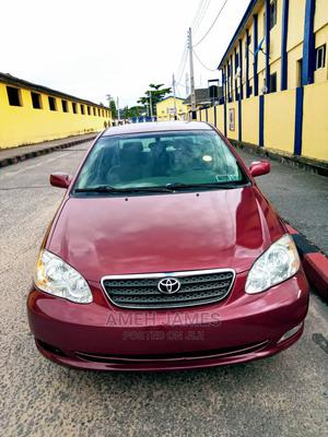 Toyota Corolla 2008 1.8 LE Red | Cars for sale in Lagos State, Ikeja