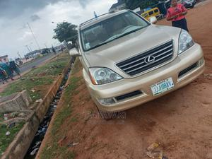 Lexus GX 2005 470 Sport Utility Gold   Cars for sale in Lagos State, Ikeja