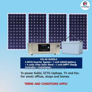2.5KVA Inverter With Solar System | Solar Energy for sale in Lagos State, Ogba
