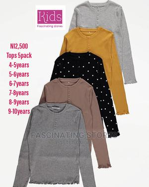 Girls 5pack Tops Kids Clothing Kids Wears   Children's Clothing for sale in Abuja (FCT) State, Wuse