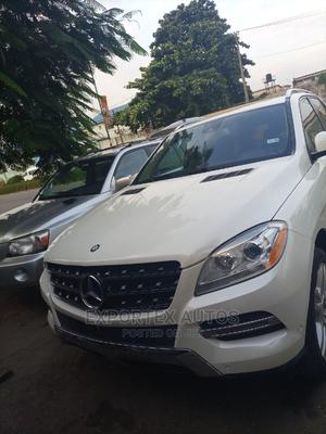 Mercedes-Benz M Class 2014 White   Cars for sale in Lagos State, Ikeja