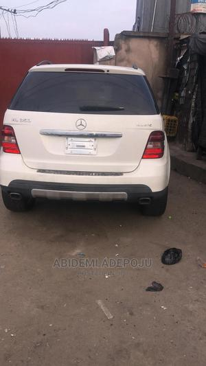 Mercedes-Benz M Class 2008 ML 350 4Matic White | Cars for sale in Lagos State, Alimosho