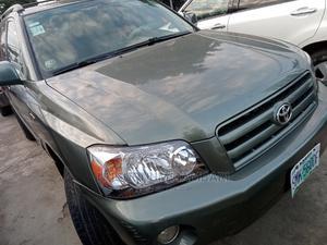 Toyota Highlander 2005 V6 Green | Cars for sale in Lagos State, Ogba