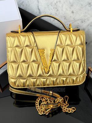 Valentino Gold Bag | Bags for sale in Lagos State, Lagos Island (Eko)