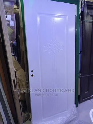 White Hard Wooden Door   Doors for sale in Lagos State, Apapa