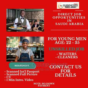 Job Opportunities for Young Men in Saudi Arabia   Travel Agents & Tours for sale in Oyo State, Ibadan
