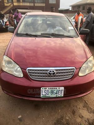 Toyota Corolla 2006 Red   Cars for sale in Ogun State, Abeokuta South