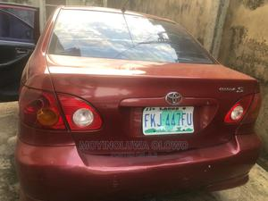 Toyota Corolla 2004 1.4 D Automatic Red   Cars for sale in Lagos State, Alimosho