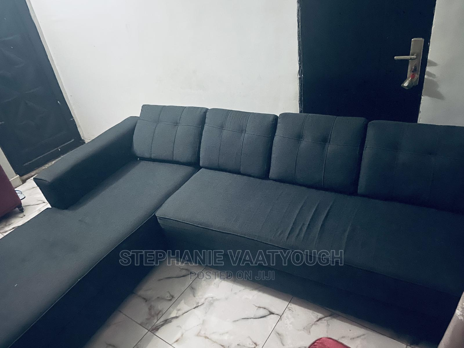Fairly Used L-Shaped Chair   Furniture for sale in Lekki, Lagos State, Nigeria