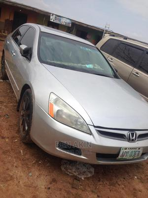 Honda Accord 2005 Coupe EX V6 Silver | Cars for sale in Lagos State, Surulere