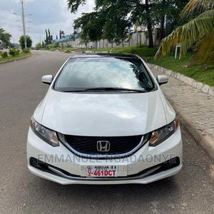 Honda Civic 2014 White | Cars for sale in Abuja (FCT) State, Gwarinpa
