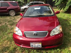 Toyota Corolla 2005 LE Red | Cars for sale in Lagos State, Ajah