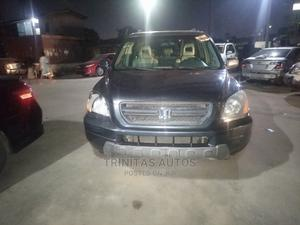 Honda Pilot 2004 EX-L 4x4 (3.5L 6cyl 5A) Gray | Cars for sale in Lagos State, Surulere