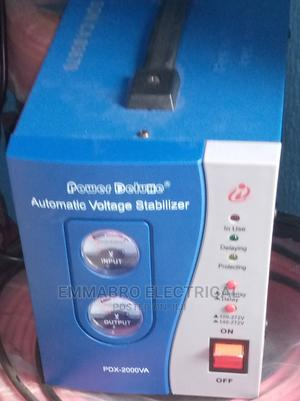 Power Deluxe PDX Stabilizer (2000 WATTS) | Home Appliances for sale in Abia State, Aba North