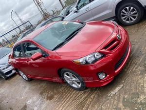 Toyota Corolla 2012 Red   Cars for sale in Lagos State, Ojodu