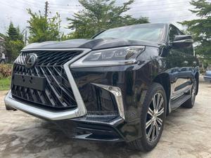 New Lexus LX 2020 570 AWD Black | Cars for sale in Abuja (FCT) State, Gwarinpa