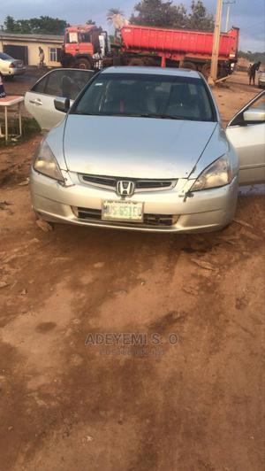 Honda Accord 2005 Sedan LX V6 Automatic Silver | Cars for sale in Ogun State, Abeokuta South