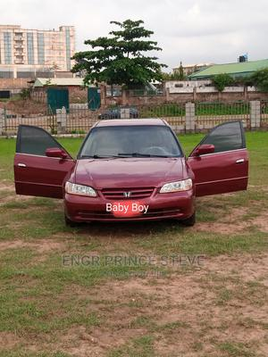 Honda Accord 2002 EX Automatic Red   Cars for sale in Abuja (FCT) State, Wuye