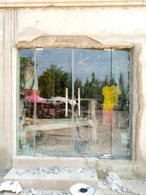 Flameless Fixed Glass and Swing Door | Doors for sale in Abuja (FCT) State, Gwarinpa