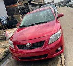 Toyota Corolla 2008 Red | Cars for sale in Lagos State, Surulere