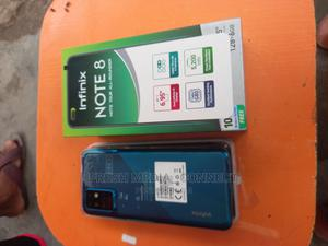 Infinix Hot 8 64 GB Blue | Mobile Phones for sale in Lagos State, Surulere