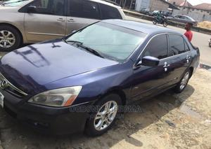 Honda Accord 2007 2.4 Exec Automatic Blue   Cars for sale in Lagos State, Ajah