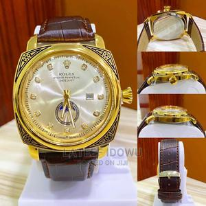 Rolex Leather Watch   Watches for sale in Lagos State, Lagos Island (Eko)